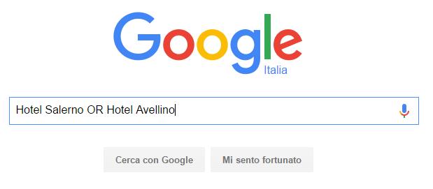 barra di ricerca di google