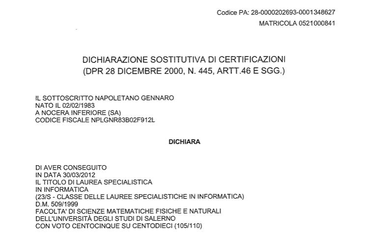 laurea specialistica informatica